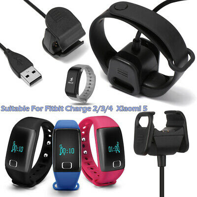 $ CDN6.58 • Buy Fitbit Charge 2/3/4 Clip Charger Xiaomi 5 Smart Accessories USB Charging Cable