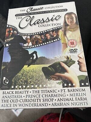 Classic Tales Collection (DVD, 2009, 3-Disc Set) Including Titanic Black Beauty • 6.99£