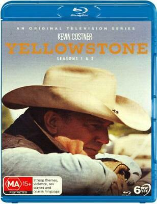 AU83.99 • Buy Yellowstone: Seasons 1 - 2 (2018) [new Bluray]