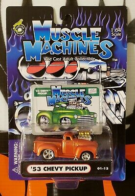 AU5.07 • Buy 2001 Muscle Machines ** '53 Chevy Pickup ** 01-13   Bad Card   1:64