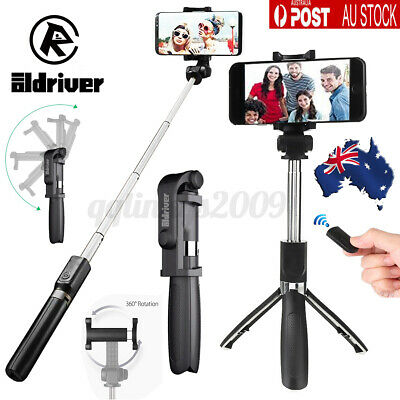 AU15.67 • Buy Universal Selfie Stick Tripod Bluetooth Mobile Stand With Remote 3in1 2021 AU 🔥