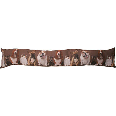 Cat Dog Tapestry Draught Excluder Door Window Cushion Draught Protection New • 7.99£