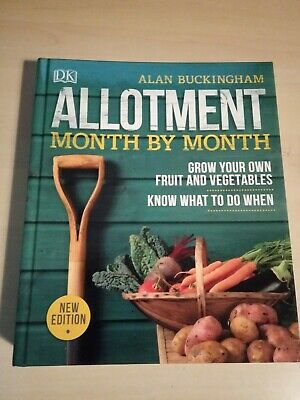 Allotment Month By Month Advice Book Grow Own Garden Herbs Vegetables Fruit  • 11.95£