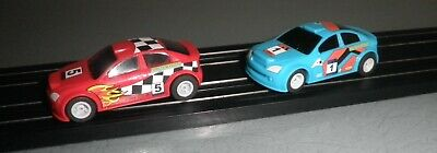 Micro Scalextric Rally Cars. • 14.75£