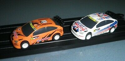 Micro Scalextric Ford Focus WRC Rally Cars • 18.50£
