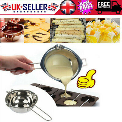 Kitchen Craft Stainless Steel Chocolate Melting Pot / Pan Bowl For Butter Baking • 5.99£