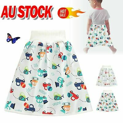 AU14.93 • Buy 2in1 Comfy Children's Diaper Skirt Shorts Waterproof Absorbent Shorts For BabyQC