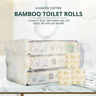 AU45 • Buy XinMier Bamboo Toilet Paper Roll, 60rolls/bundle