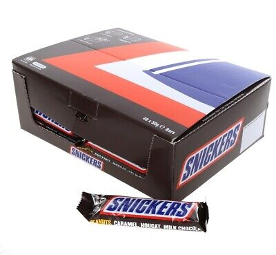 AU76.50 • Buy Snickers 48 X 50g Bars