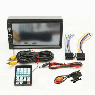 $ CDN57.41 • Buy 7inch HD 2Din Touch Screen Car Stereo MP5 Player Radio Android IOS USB/TF+Camera