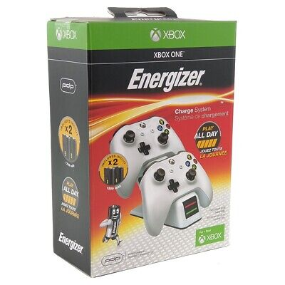 AU62 • Buy Xbox One Energizer Dual Charger Black/White Brand New Same Day Express Post