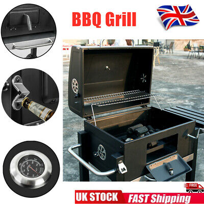 New Outdoor Garden BBQ Portable Grill Classic Smoker Charcoal Barbeque Foldable • 84.99£