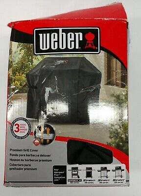 $ CDN54.40 • Buy Weber Premium Grill Cover Fits All Genius Series Gas And Charcoal