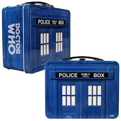 £7.17 • Buy Doctor Who Limited Edition TARDIS Tin Tote Lunch Box DR BBC New Mint