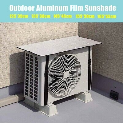 AU24.54 • Buy Outdoor Waterproof Air Conditioner Cover Aluminum Film Sun Protection Cleaning