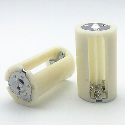 AU13.09 • Buy 4pcs 3x AA To D Size Battery Adapter Converter Holder Switcher Case Box