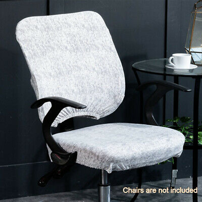 AU16.69 • Buy Modern Computer Office Swivel Chair Cover Separate Home Stretchable Removable