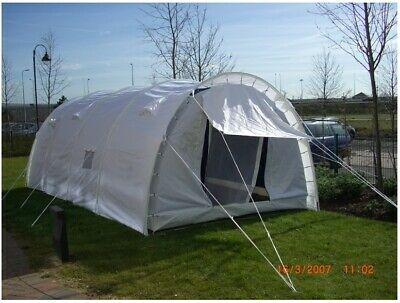 £138 • Buy Large Tunnel Tent, Shelter, For Parties, Events, Camping, 4-8 Person, Heavy Duty