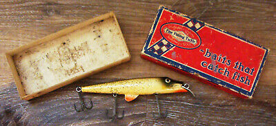 $ CDN86.67 • Buy Vintage Shakespeare Egyptian Wobbler #6636 Fishing Lure In Unmarked Box!