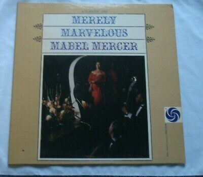 $8.95 • Buy Mabel Mercer – Merely Marvelous   Vinyl Is Excellent  -FREE SHIPPING-