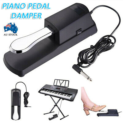 AU16.50 • Buy Piano Damper Sustain Pedal Foot Switch For Electric Yamaha Casio Roland Keyboard