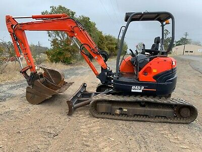 AU35000 • Buy Excavator Kubota U45-3 Super Series