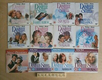 Danielle Steel Collection - Daddy The Ring Family Album Star Etc 12 Promo Dvds • 11.99£