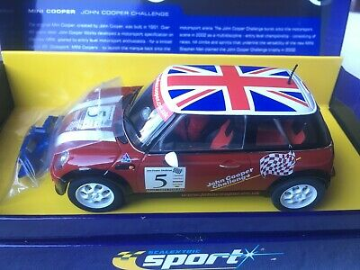 Scalextric C2484a Mini Cooper John Cooper Challenge No5 Limited Edition • 30.27£