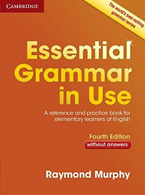 £14.79 • Buy Essential Grammar In Use Without Answers: A Reference And Practice Book For Elem