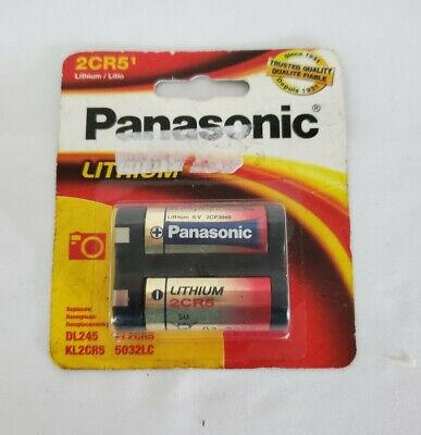$ CDN11.84 • Buy Panasonic 6V 2CR5 Photo Lithium Battery Replaces DL245 KL2CR5 PR2CR5 USA SHIP
