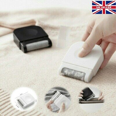 Lint Remover Shaver Fuzz Off Clothes Bubble Dust Fluff Fabric Roller Brush UK • 2.48£