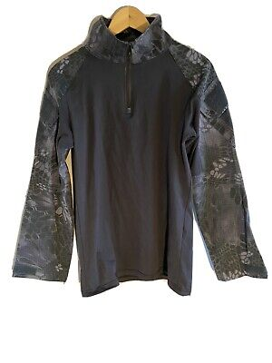 Snake Camo Black UBAC Shirt. Size Large Muscle Fit • 7£