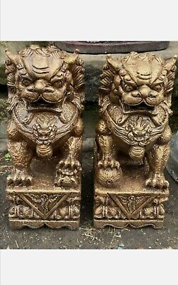 Large Resin Chinese Foo Dogs 82cm • 899£