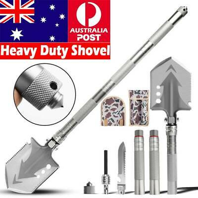 AU54.99 • Buy Multifunction Tactical Shovel Outdoor Folding Camping Survival Tools Military