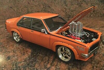 AU750 • Buy 1/18 Modified Injected Holden LH Torana SLR 5000 In SAFFRON Orange