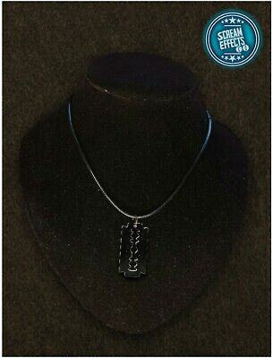 Razor Blade Hand Made Necklace Jewellery Perfect For Halloween  • 3£