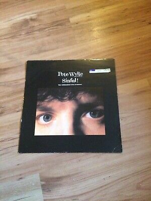 Pete Wylie - Sinful - Wicked Remixes - 12 Inch Record • 8£
