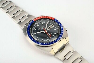 $ CDN1056.51 • Buy  Rare Vintage Seiko 6139-6002 Pogue Day Date Chronograph Automatic S.S Watch