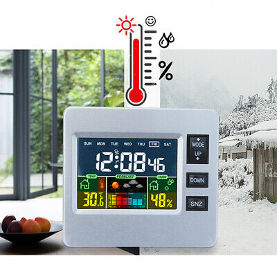 AU18.73 • Buy Student Children's LCD Multi-function Alarm Clock Mute Cock Bedside Clock AU