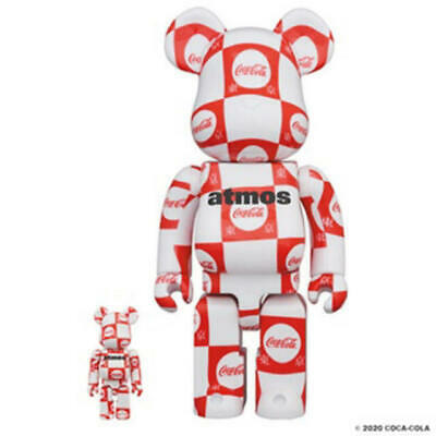 $347.08 • Buy Bearbrick Atmos Coca-Cola 100 400
