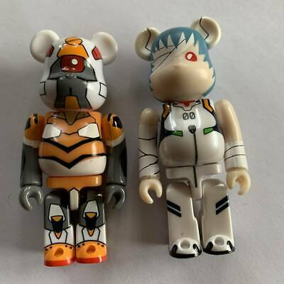 $61.01 • Buy Be Rbrick Evangelion Theatrical Edition Sequence 2Pc Set B 100 Bearbrick