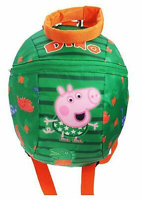 Peppa Pig Boys Toddler Backpack With Reins 2.5 L, Green • 18.72£