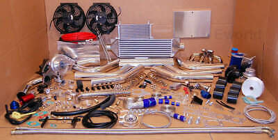 AU1619.53 • Buy FOR MR2 5SFE Turbo Charger T3T4 Kit SW20 Celica GT 500hp 5spd Auto RACE Package