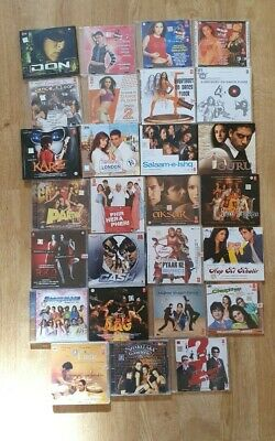 27 X Bollywood Music CD Bundle Job Lot (Hindi Indian) - Good Condition • 19.95£