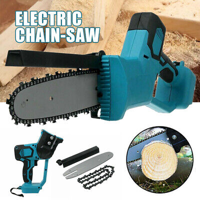 Electric Cordless Chainsaw Chain Saw Garden Cutting Tools For Makita Battery • 36.99£