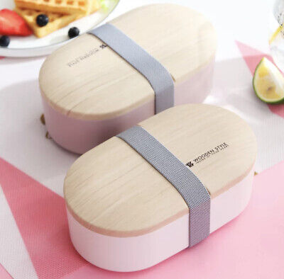 AU29.98 • Buy Double Layer Portable Leakproof Bento Lunch Box With Cutlery