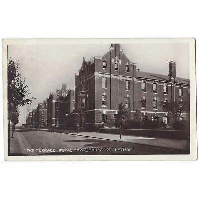 £5.95 • Buy CHATHAM Royal Naval Barracks, The Terrace, RP Postcard By Gale & Polden 1909