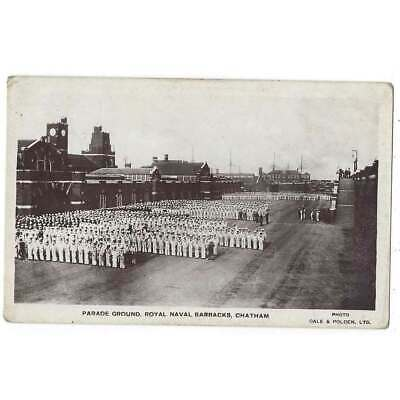 £7.50 • Buy CHATHAM Parade Ground, Royal Naval Barracks, RP Postcard By Gale & Polden Unused