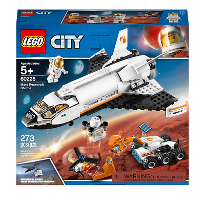LEGO City Mars Research Shuttle Spaceship Construction - 60226 • 25£