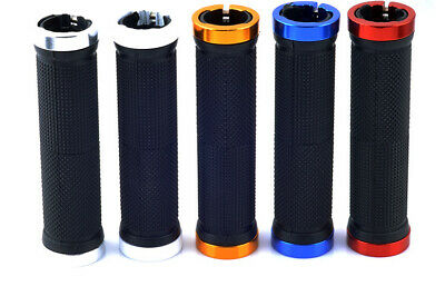 AU22 • Buy Double Lock On BMX MTB Bike Coloured Bicycle Scooter Handle Bar Grips Cycle